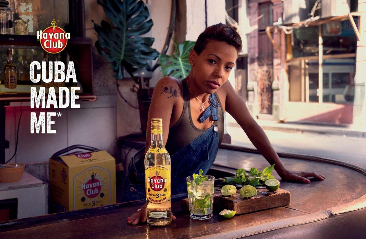 """Un exemple de storytelling en affiche — la campagne """"Cuba made me"""" Havana Club"""